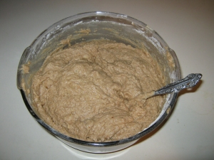 applesauce cake batter