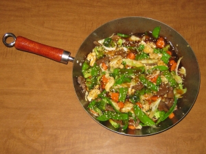 Sesame beef stir-fry recipe