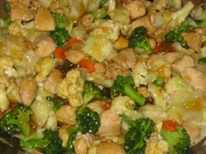 sesame chicken stir-fry recipe