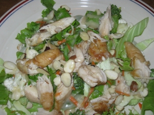 Oriental Chicken Salad dressing recipe