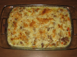 Turkey tetrazzini recipe marissabaker.wordpress.com