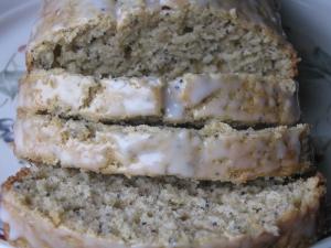 Lemon Almond bread recipe marissabaker.wordpress.com