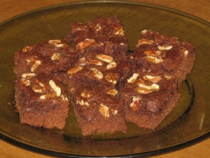 Speedy Brownie recipe marissabaker.wordpress.com