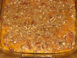 Sweet Potato Casserole recipe marissabaker.wordpress.com