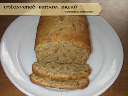 Unleavened Banana Bread by marissabaker.wordpress.com