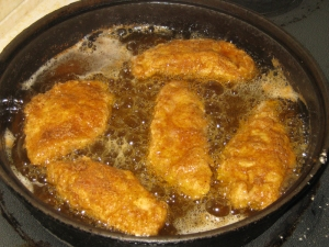 """Crunchy Chicken Breasts with Honey Garlic Sauce"" marissabaker.wordpress.com"