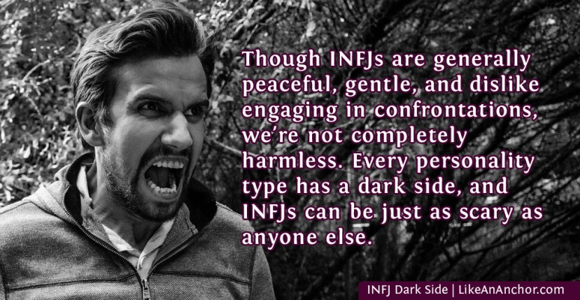 INFJ Dark Side