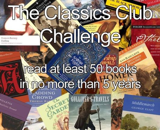 The Classics Club | marissabaker.wordpress.com