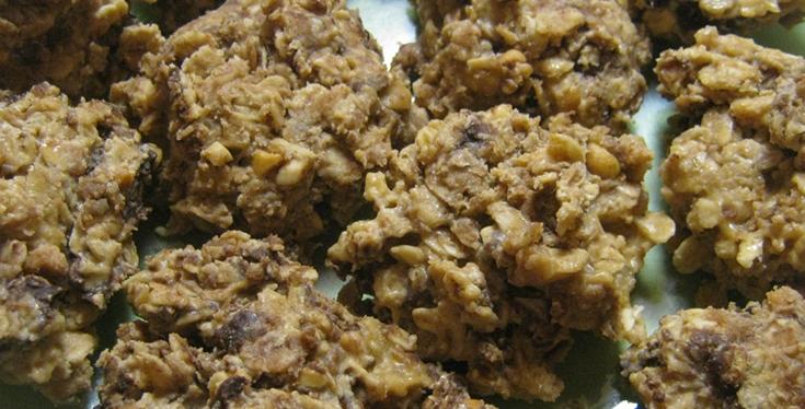 Crunchy No-Bake Cookies