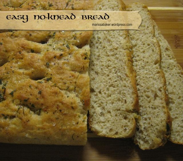 Easy No-Knead Bread   marissabaker.wordpress.com