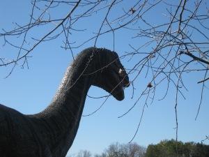 it's a dinosaur