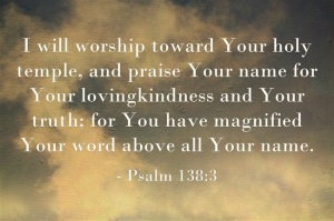 "Praise and Worship blog series, ""What is Worship?"" 