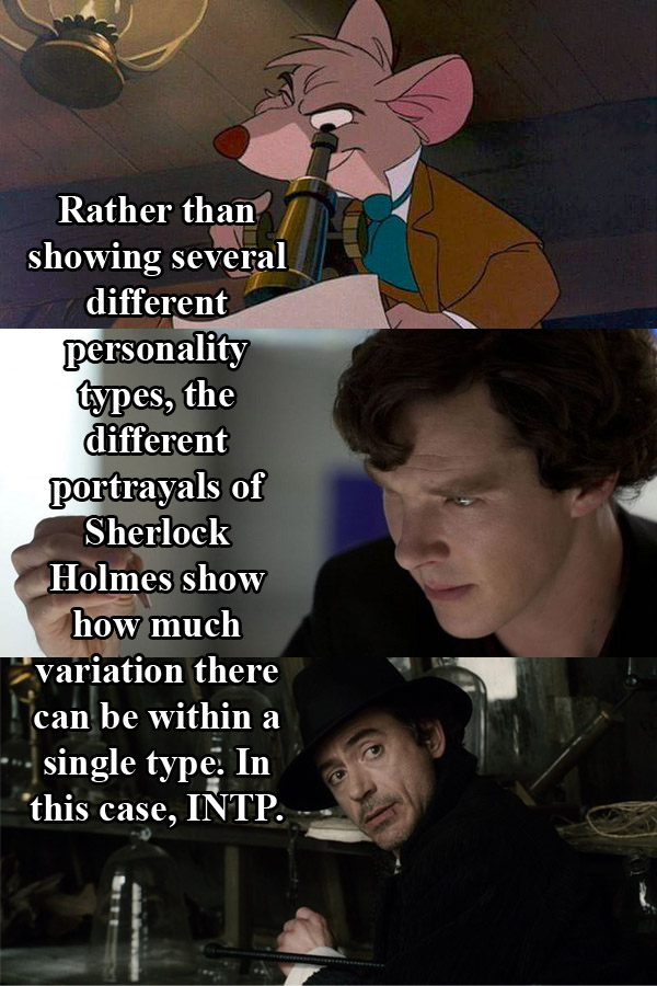 Ficitonal MBTI – Sherlock Holmes(INTP)