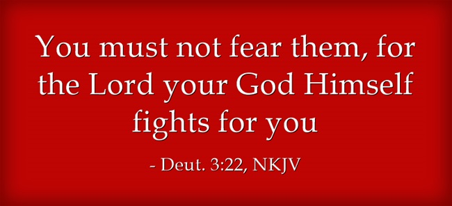 The Lord Will Fight | marissabaker.wordpress.com