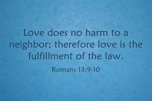 The Second Greatest Commandment | marissabaker.wordpress.com