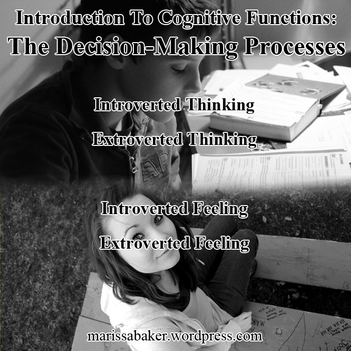 Introduction To Cognitive Functions: The Decision-Making Processes   marissabaker.wordpress.com