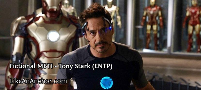 Fictional MBTI – Tony Stark(ENTP)