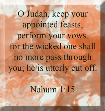 God's Anger in Nahum | marissabaker.wordpress.com