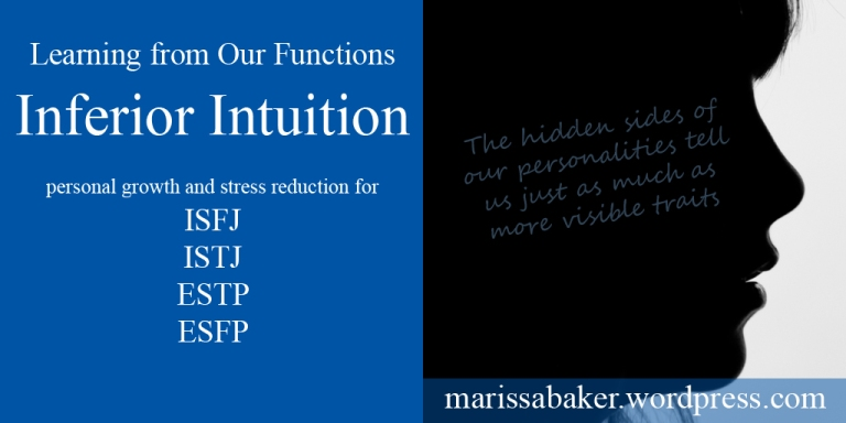 Learning from Our Stress Function - Inferior Intuition | marissabaker.wordpress.com