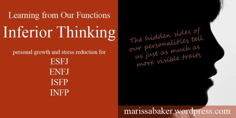 Learning from Our Stress Function - Inferior Thinking | marissabaker.wordpress.com