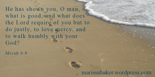 Best Way To Humility | marissabaker.wordpress.com