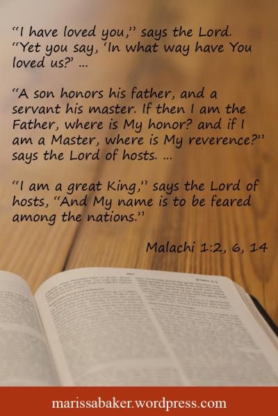 Malachi's Message   marissabaker.wordpress.com