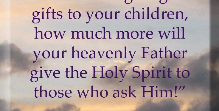 Who Receives The Holy Spirit?