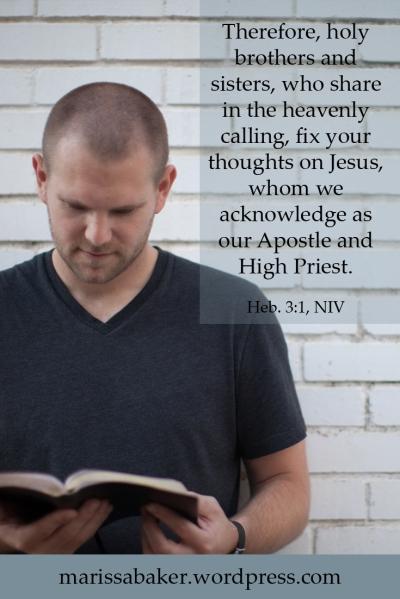 Consider the High Priest | marissabaker.wordpress.com