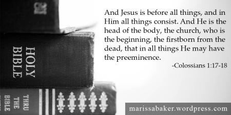 What Is The Church? | marissabaker.wordpress.com