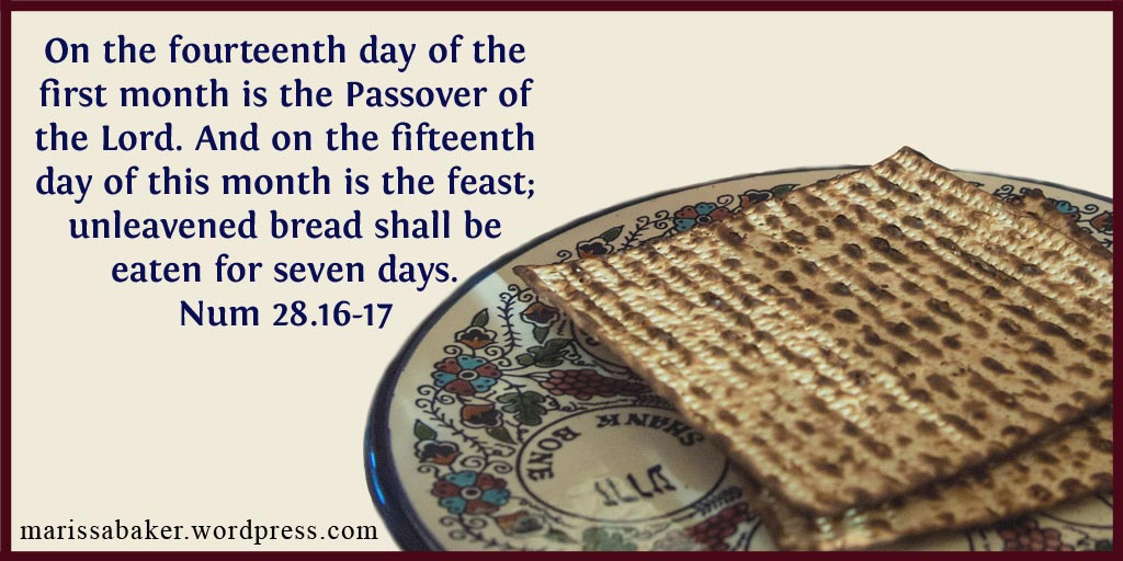 Why I'm Keeping Passover On Nisan 14 – Like An Anchor