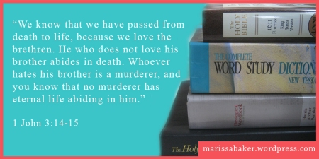 Loving Christ's Body | marissabaker.wordpress.com