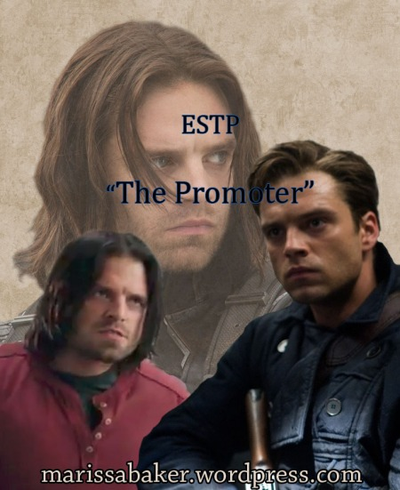 "Fictional MBTI - James ""Bucky"" Barns (ESTP)"