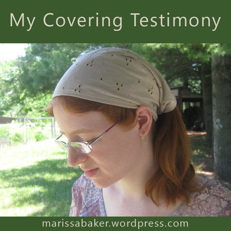 Why I Cover My Head InChurch