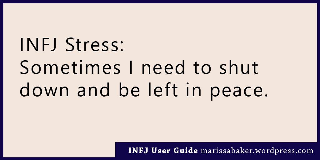 INFJ User Guide – Like An Anchor