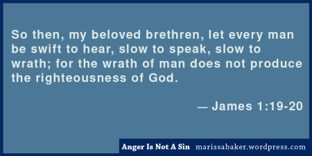 "click to read article, ""Anger Is Not A Sin (at least not all the time)"" 
