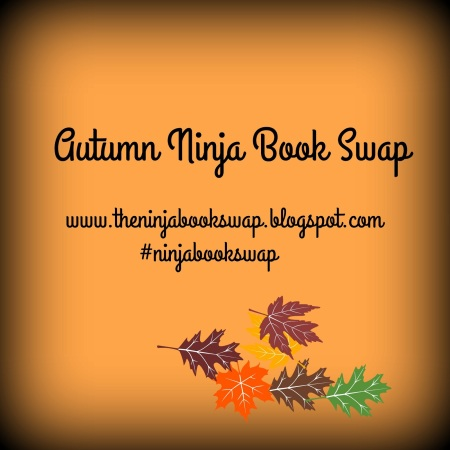 Become A Book-Swapping Ninja | Ninja Book Autumn Book Swap Blog Tour | marissabaker.wordpress.com