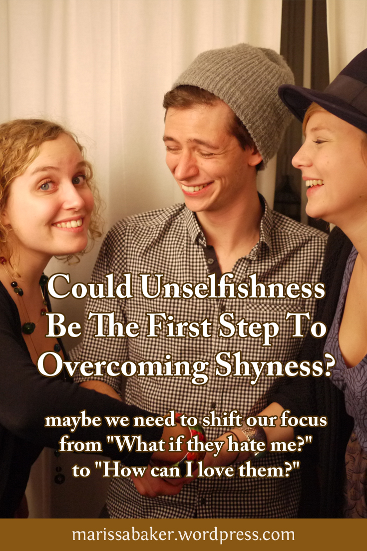 Could Unselfishness Be The First Step To Overcoming Shyness?