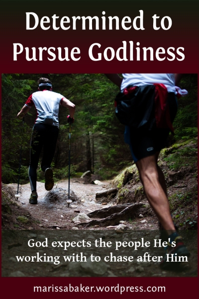 "click to read article, ""Determined to Pursue Godliness"" 