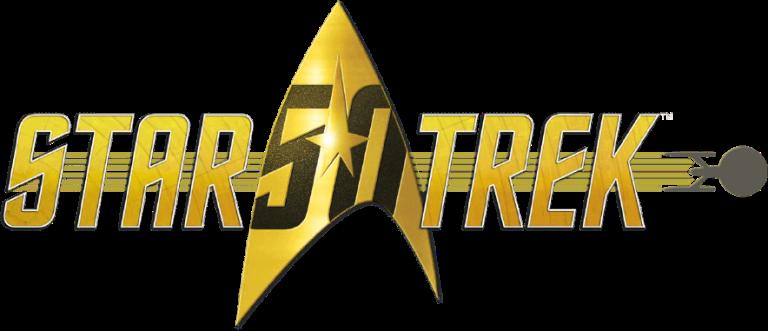 official Star Trek 50th Anniversary logo