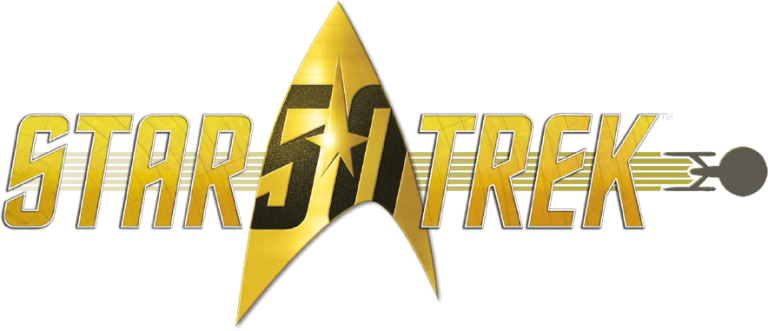 official Star Trek 50th Anniversary logo