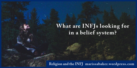 "click to read article, ""Religion and the INFJ"" 