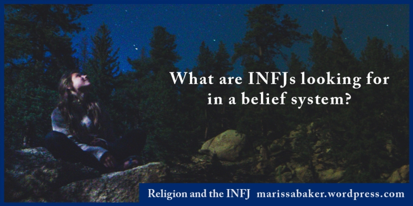 Religion and the INFJ
