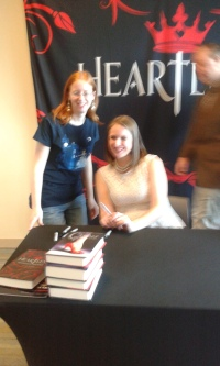 Meeting Marissa Meyer | marissabaker.wordpress.com