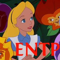 Alice - ENTP. Visit marissabaker.wordpress.com for more Disney princess types