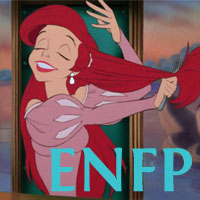 Ariel - ENFP. Visit marissabaker.wordpress.com for more Disney princess types