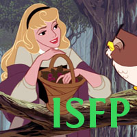 Aurora - ISFP. Visit marissabaker.wordpress.com for more Disney princess types