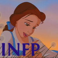 Belle - INFP. Visit marissabaker.wordpress.com for more Disney princess types