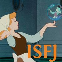 Cinderella - ISFJ. Visit marissabaker.wordpress.com for more Disney princess types