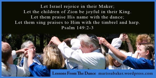 Lessons From The Dance | marissabaker.wordpress.com