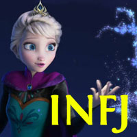 Elsa - INFJ. Visit marissabaker.wordpress.com for more Disney princess types